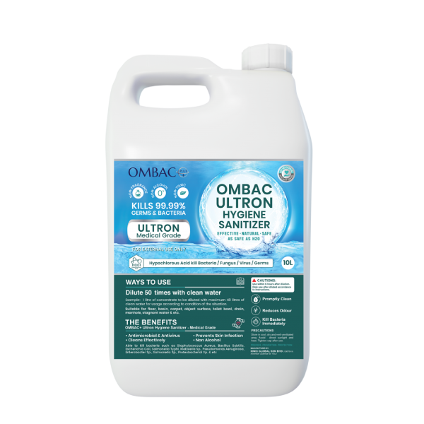 OMBAC+ Ultron Medical Grade (10L)